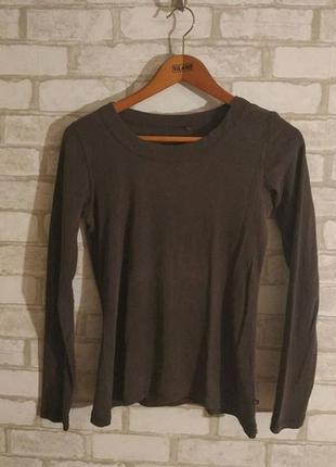 Пуловер серо-коричневый vero moda