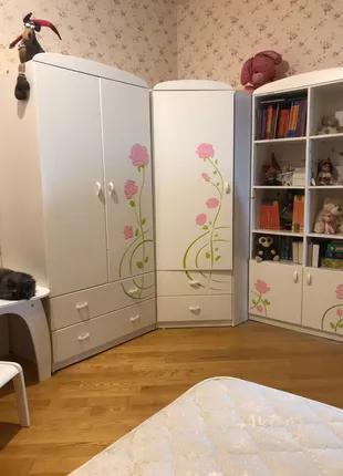 Детская мебель для девочки, производства Меблик, Польша б/у