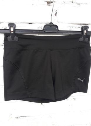 Черные спортивные шорты puma оригинальные чорні спортивні шорт...