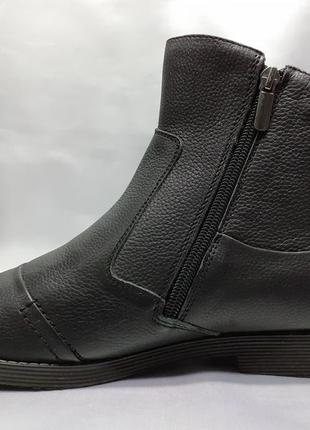 Распродажа!зимние кожаные классические сапоги faro