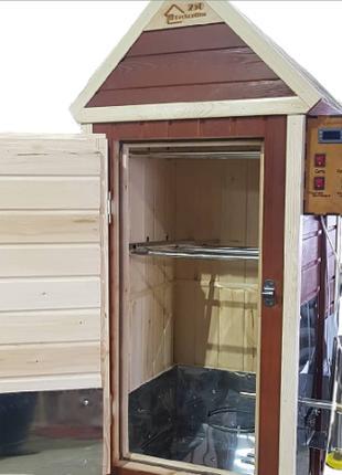 Коптильня для холодного и горячего копчения Прокоптим 250. 3в1