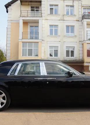 Аренда Ролс Ройс Фантом с водителем в Киеве
