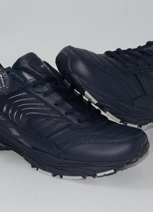 Кожаные мужские кроссовки  718w, 41-46 размеры