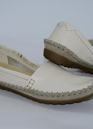 Женские кожаные мокасины, размер 36-41