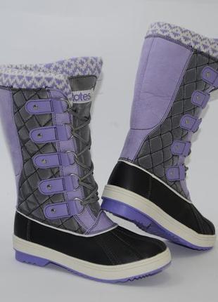 Сапоги totes kids selena purple для девочек,