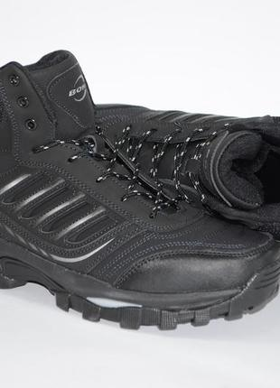 Зимние мужские ботинки, кожа, bona, бона