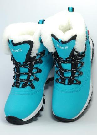 Женские зимние ботинки, размеры 36-41