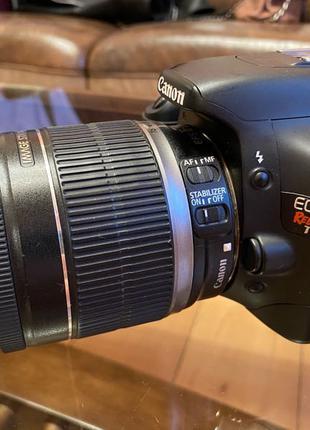 фотоаппарат Canon D 550 с объективом 18-200 мм