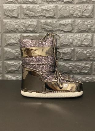 Стильные луноходы, moon boots, дутики, недорого