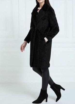 Стильное  женское пальто из искусственного каракуля от dunnes ...