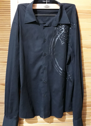 Рубашка мужская с декором
