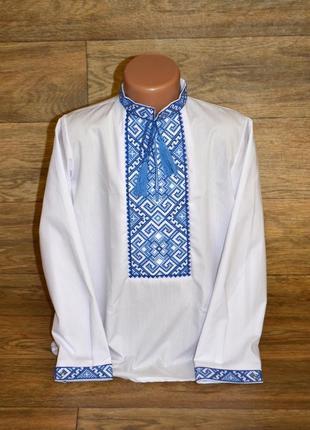 Вишиванка, вышиванка, сорочка с вышивкой для мальчика 10 лет