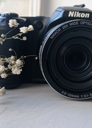 Nikon Coolpix L320 Black (VNA340E1)