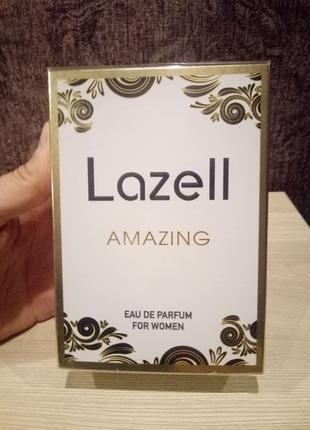 Парфюмированная вода amazing lazell
