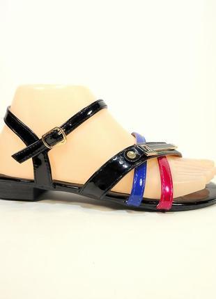 Босоножки - сандалии, женские, летние, черные, модные. размер ...