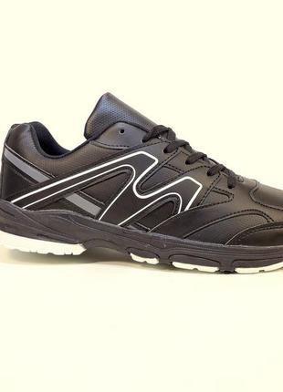 Кроссовки мужские черные и синие, легкие, беговые. размер 41-45.