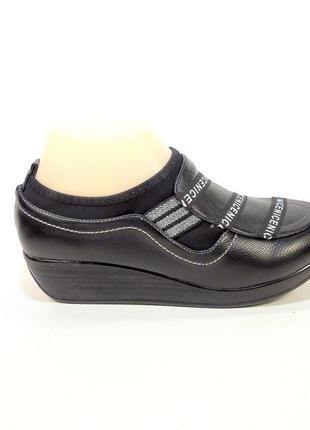Туфли женские на танкетке, модные, лёгкие и комфортные. размер...