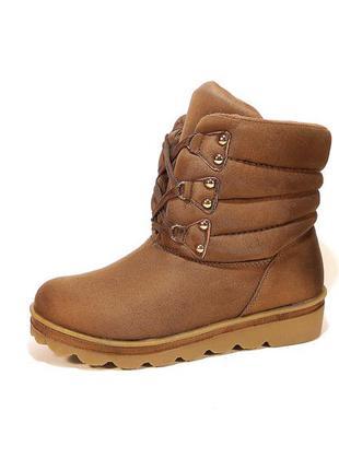 Зимние женские ботинки, замшевые. размер 36-41.