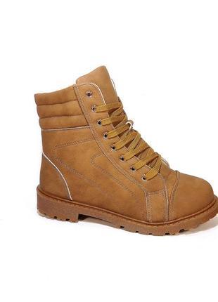 Ботинки, женские, зимние, теплые и легкие, на шнуровке и молни...