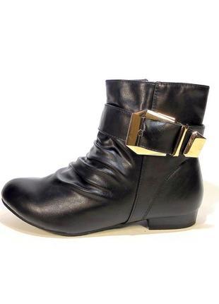 Ботинки полусапожки женские демисезонные удобные и стильные. р...