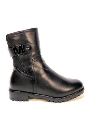 Ботинки-полусапожки, женские, зимние на низком ходу. размер 36...