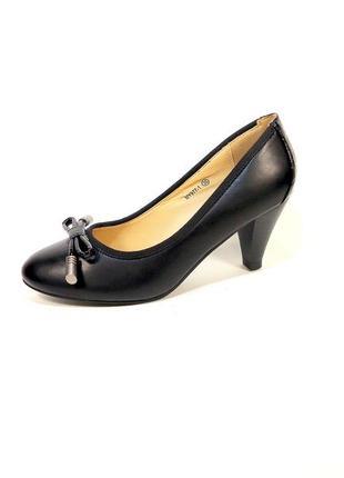 Туфли женские camidy, лодочки, на устойчивом каблуке. размер 3...
