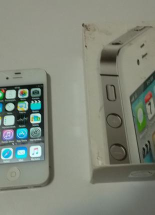 Iphone 4s 16 №3977 на запчасти