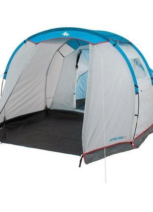 Французкая палатка намет Quechua Arpenaz Family 4–местная палаткf