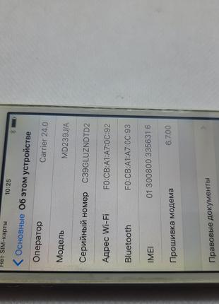 Apple iPhone 4S 16GB #7748 на запчасти