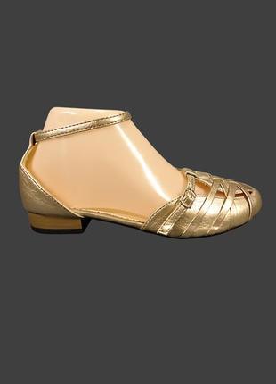 Босоножки сандалии женские с закрытым носком и пяткой.