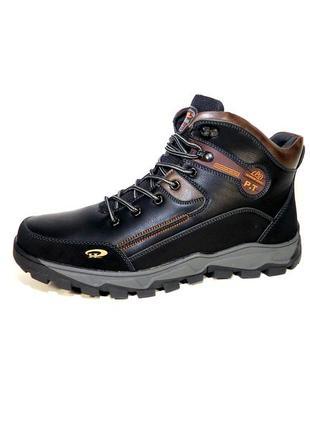 Мужские зимние ботинки на меху, спортивные, баталы, большой ра...