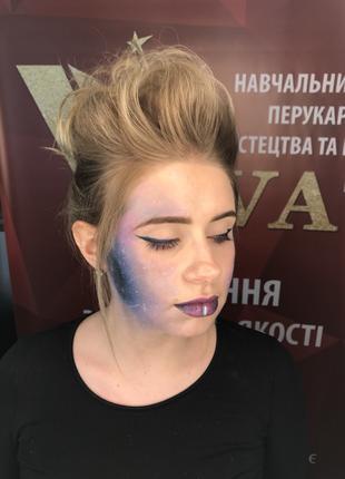 Занимаюсь макияжем