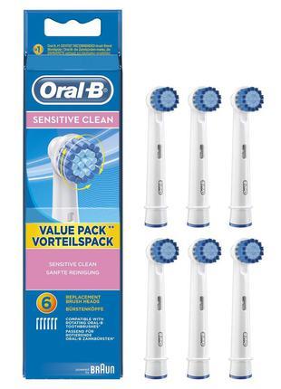 Насадки для зубних щіток oral-b sensitive clean (ціна за одну ...