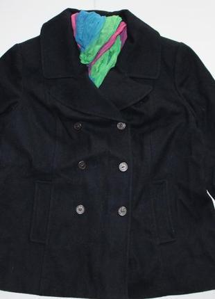 Пальто темно-синее old navy