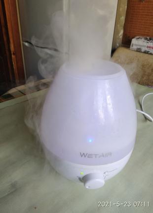 Увлажнитель воздуха ультразвуковой WetAir MH-202W