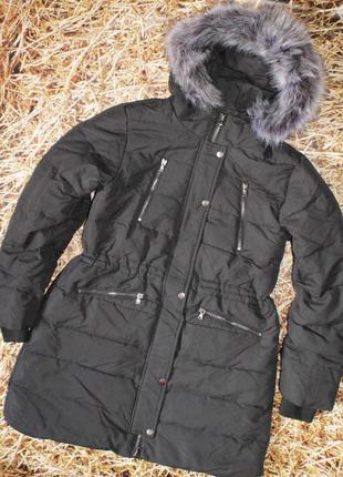 Новая зимняя женская куртка пуховик y.a.s. размер xl