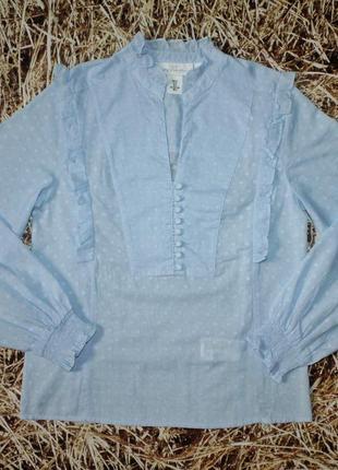 Новая блуза h&m с пышным рукавом. размер s