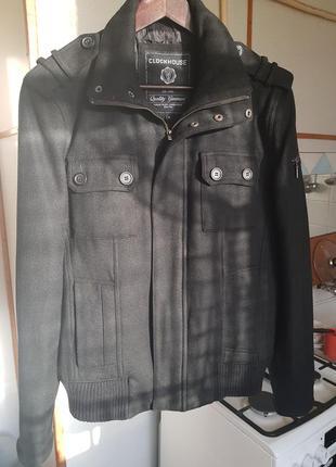 Мужская шерстяная куртка clockhouse