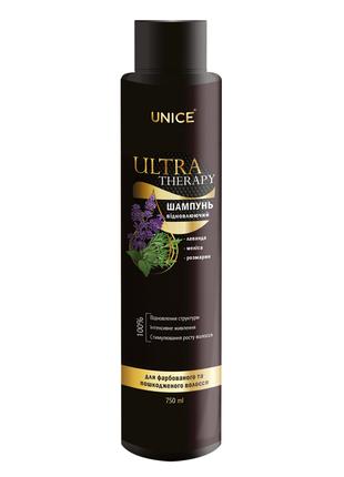 Шампунь для волос Ultra therapy 750мл