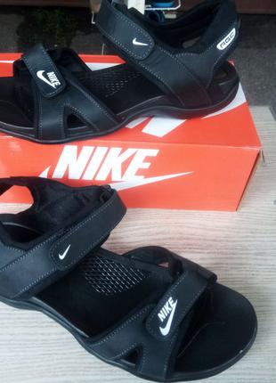 Сандали кожаные Nike 41,42,43,44,45