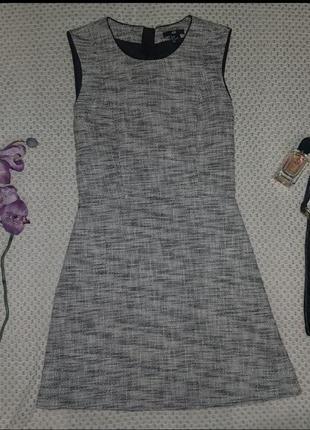 Платье в стиле  шанель h&m черно-белое