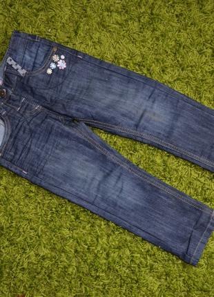 Штани джинси! стан +!! 98-110 ріст максимум
