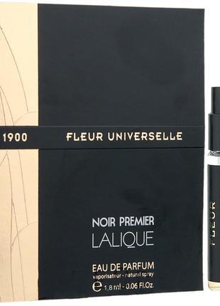 Lalique Fleur Universelle 1900_Оригинал EDP_3 мл затест_Распив
