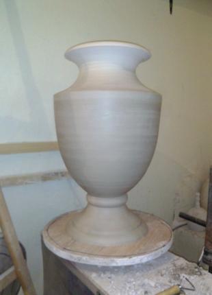 Изготавливаем вазы и вазоны большого размера