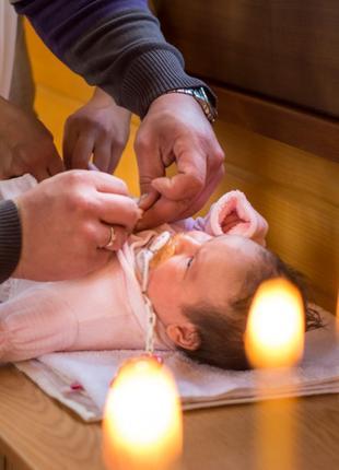 Детская фотосессия и съёмка крестин
