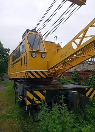 Кран железнодорожный КЖДЭ-25 1992 года выпуска