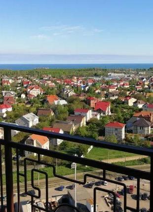 2-комнатная квартира с видом на море