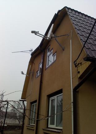 Спутниковое и Эфирное ТВ-Установка-Настройка ТВ антенн-Т2прист...