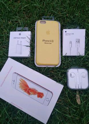 Комлект для твоего iPhone айфон5/5s/6/6s/7/8 чехол,зарядка,стекло