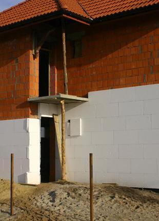 Утепление фасадов домов, коттеджей.